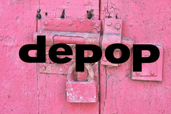 La mia libreria Rosa Depop