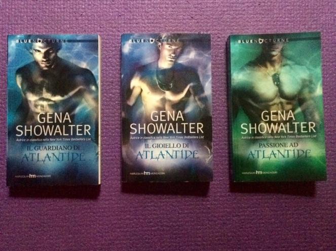la saga di Atlandide Gena Showalter